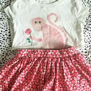 Kate Spade Matching Outfit Girls Size 5